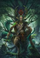 A Forest Lord by geying
