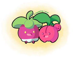 Fruity Friends by A-Bumbling-Idiot