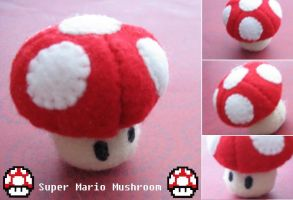 Super Mario Mushroom v2.0 by Mechashinobi-X