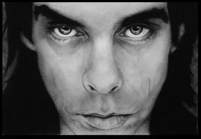 Nick Cave by Run-from-the-sun