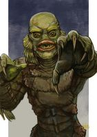 Daily Sketches the Gill Man by fedde