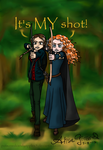 Hunger Games vs Brave by alisagirard