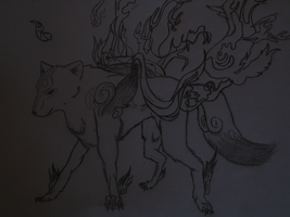 Okami Conest Entry 1 by whitewolflover94