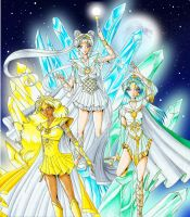 Sailor Goddesses of Trias by RBMbasti