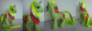 My little Pony Custom G3 Mimic (no 2) by BerryMouse