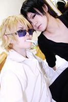 Durarara Shizuo and Izaya by Asuka10