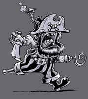 Steam Power Pirate by jimspon