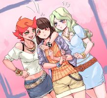 Little Witch Academia: Neapolitan Ice Cream by archvermin