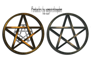 Pentacles by vampirekingdom