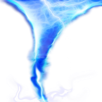 Tornado and lighting png stock by DoloresMinette