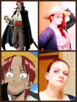 Makeup Test One Piece Shanks by The-cute-cat