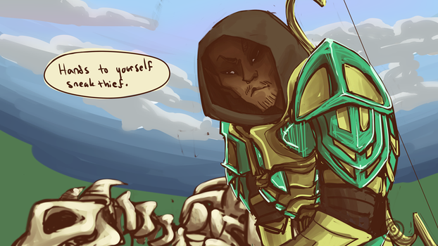 Maybe I'm the dragonborn, I just don't know it yet by awyyea