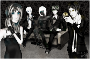 . Monochrome Mafia . by TheArta