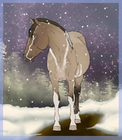 Snowy Your Horse Here-Closed by MissNomAlot