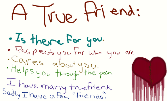 What a true friend is by RingoStarr9