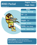 Fakemon: Packal, Final by CadenTheGreat