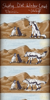 ~Shedding D'at Winter Coat Comic~ by VexiWolf