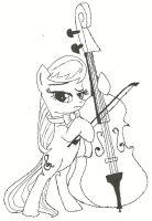 Octavia Hoof Drawn by Ratchet-Wrench
