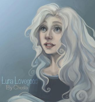 Luna Lovegood by MeryChess