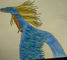 Blue Windserpent by Seitira