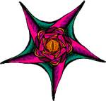 Drawchemy + Ravioli - Flower Pentagram by ShadowKyogre