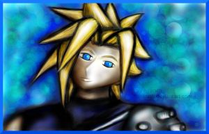 .:Cloud Strife - Glow:. by Miarath