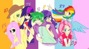 Mlp Humanized by SHIROHO