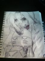 Edward and Al Elric sketch. by OtakuMouse94