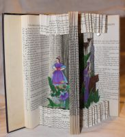 Fairy Tale Book Alteration left view by wetcanvas