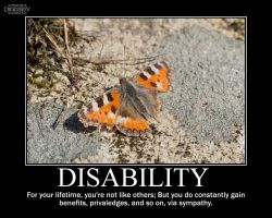 Disability -demotivation- by Dragunov-EX