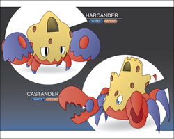 Sand Crab by Itching2Design