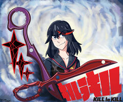 Final Project- Kill la Kill Movie Poster by Shadehedgie77