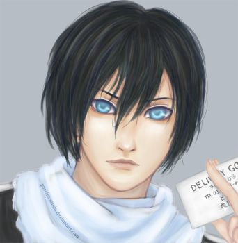 Yato | Delivery god by PureInsomnia