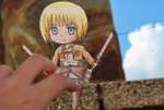SNK paper child: Armin by Kamukura-Izuru