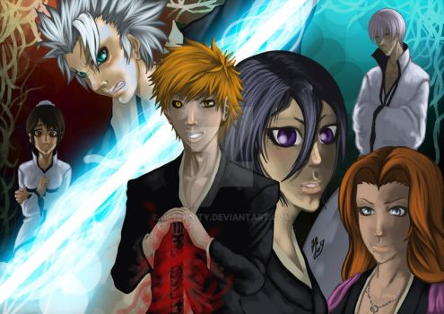 Bleach Characters by Jeternity