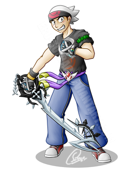 Commission for Chris: Personal Avatar by Ero-Solrac