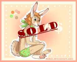 Bunny boy adoptable -CLOSED- by Kiibie-Adopt