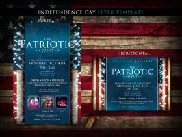 4th of July Flyer Template by tommyhanus