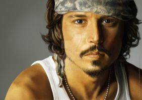 johnny depp by xRompKidx