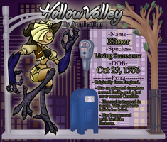 Hollow Valley - Elinor by SalemTheCat23