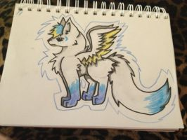 SilverMoon (request) by WolvesPoniesOhMy