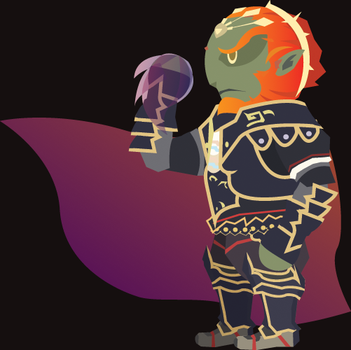 Chibi Ganondorf Vector by ViralDrone