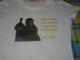 Alistair t-shirt by vaquera1234