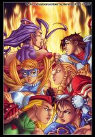Street fighter by diabolumberto