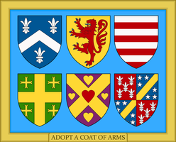 Adopt a Coat of Arms by SirJohnRafael