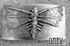 Belt Buckle. Silver. by QneV-jewelry