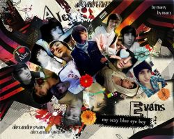 Alex Evans Collage by marcyrbd