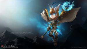 Skywrath Mage - DotA 2 Chibi project by VirtualMan209