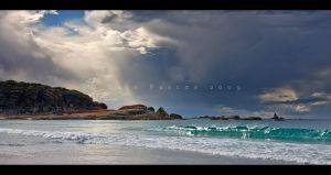 Binalong Bay Storm by CainPascoe