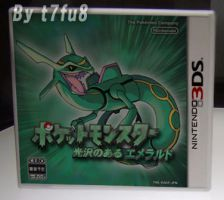 Pokemon Emerald Remake Box by t7fu8